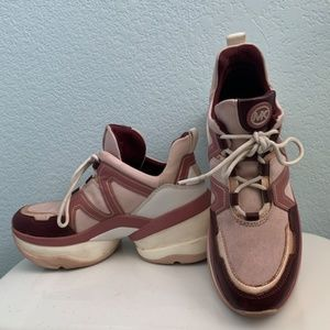 Michael Kors Olympia Rubber Chunky Sneaker